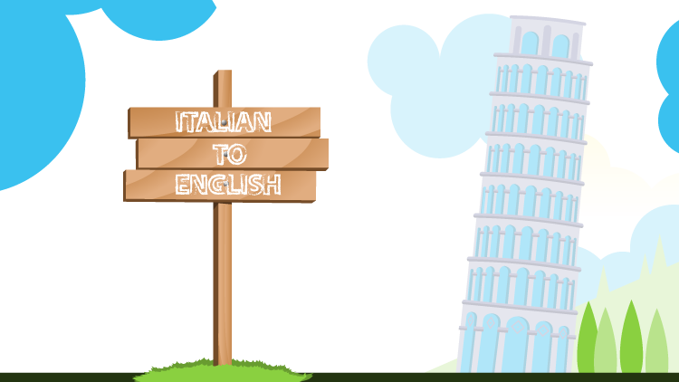 Where can you get Italian to English translation services in Europe